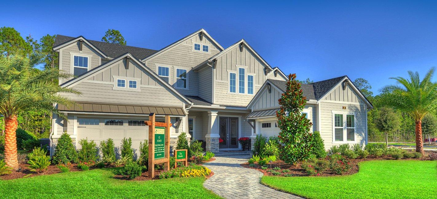 The Brooke - New Homes Jacksonville FL