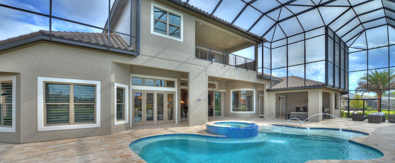 Datyona Beach Area Custom Home - The Elizabeth
