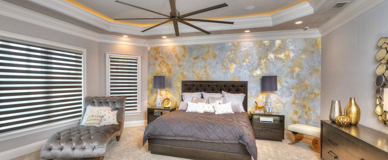 Datyona Beach Area Custom Home - The Elizabeth Master Bedroom