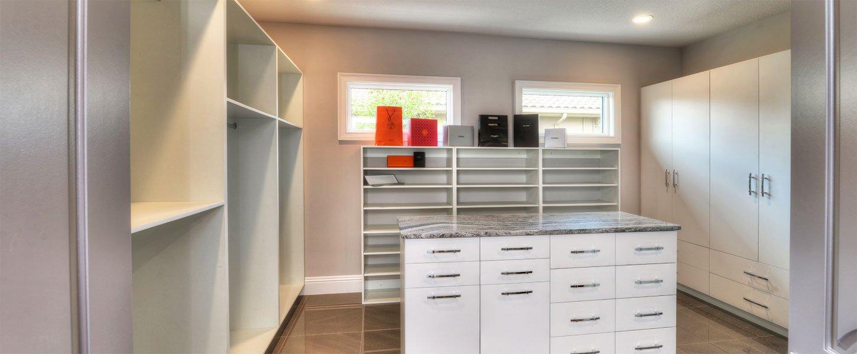 Datyona Beach Area Custom Home - The Elizabeth Walk-In Closet