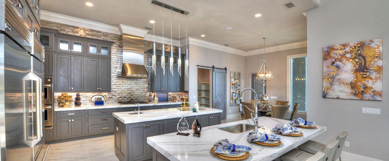 Datyona Beach Area Custom Home - The Elizabeth Kitchen