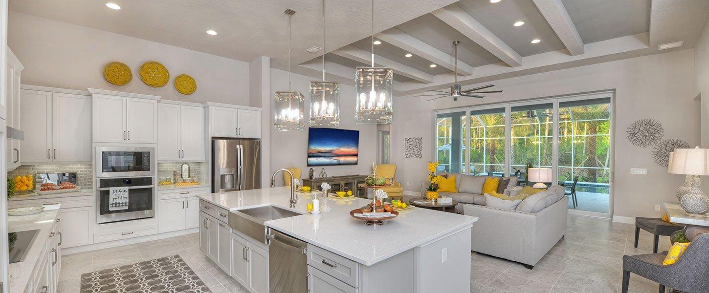 Custom Built Daytona Beach Home Kitchen