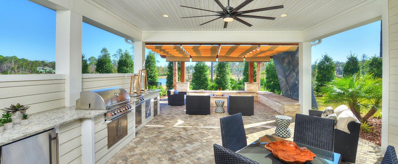 Custom Outdoor Living in Daytona Beach Home