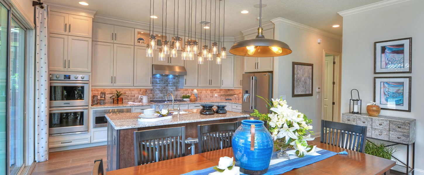 Custom Jacksonville Area Home - The Brooke Kitchen