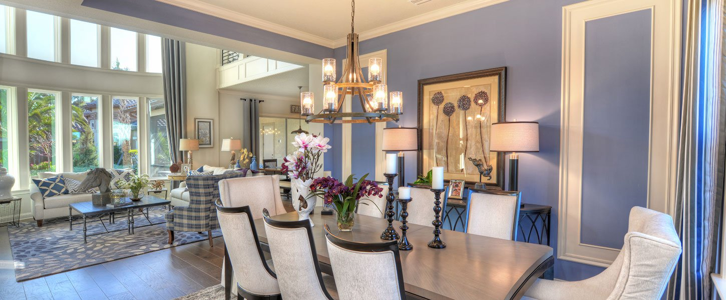 Custom Jacksonville Area Home - The Brooke Dining Room