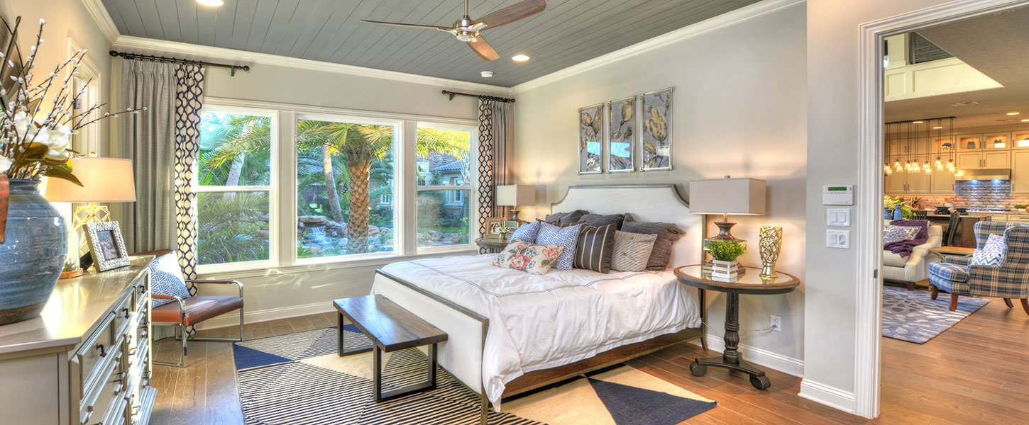 Custom Jacksonville Area Home - The Brooke Master Bedroom