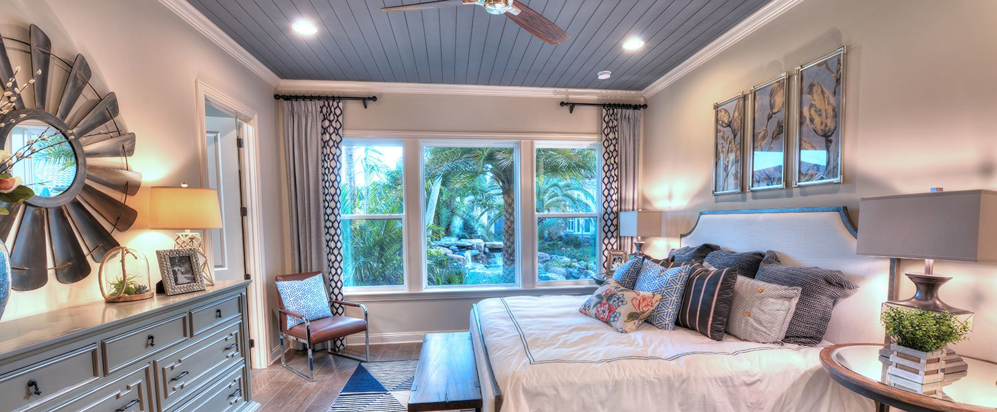 Custom Jacksonville Area Home - The Brooke Bedroom