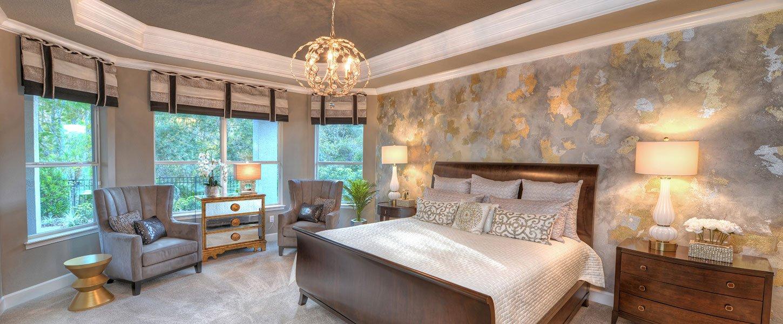 Custom Built Home in Daytona Beach Master Bedroom