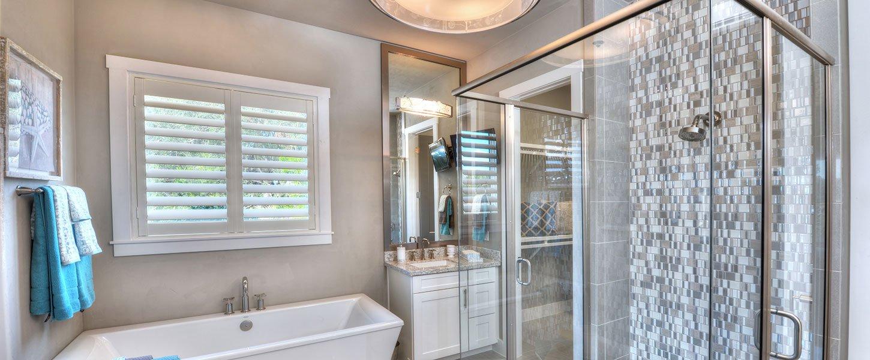 Custom Master Bathroom in Daytona Beach Custom House