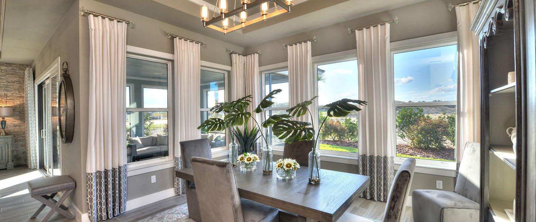 Daytona Beach Custom Built Home Dining Room
