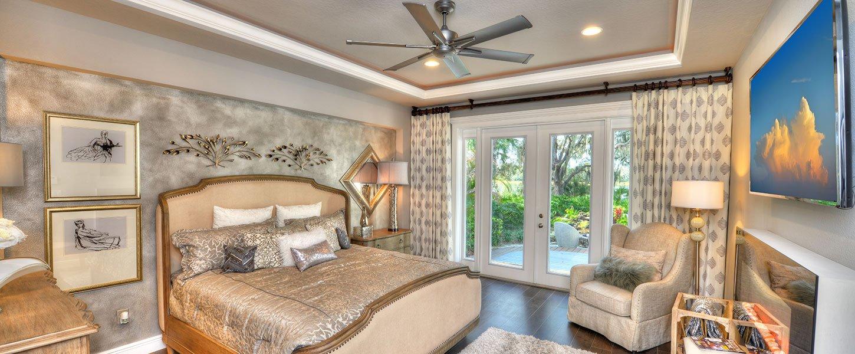 Custom Build Tampa Homes - The Shenandoah Master Bedroom