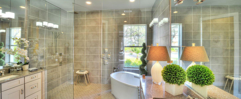 Custom Build Tampa Homes - The Shenandoah Master Bathroom