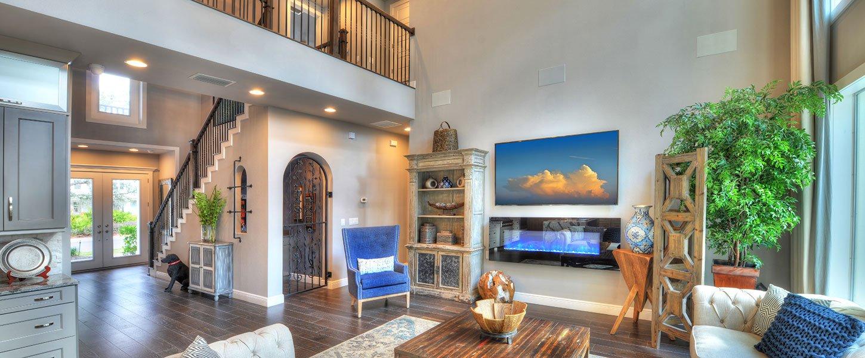 Custom Build Tampa Homes - The Shenandoah Living Room