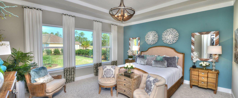 Custom Build Tampa Home Master Bedroom