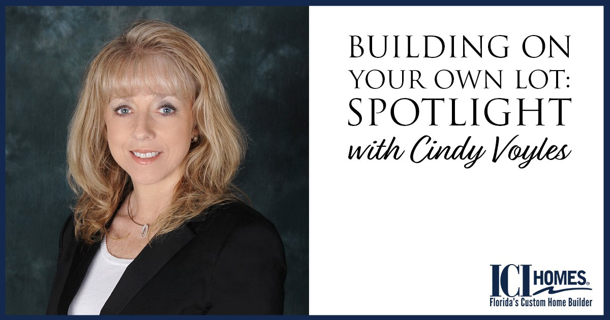 On Your Lot Home Sales Spotlight with Cindy Voyles
